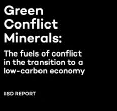 Image result for conflict minerals green revolution""