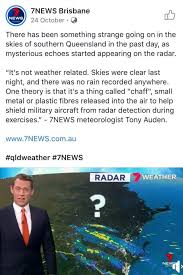 Image result for caused fires chaff military australia radar nsw conspiracy