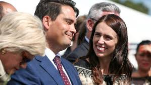 Image result for jacinda and simon bridges