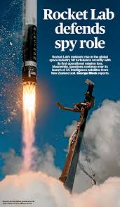 PressReader - The Press: 2020-07-28 - Rocket Lab defends spy role