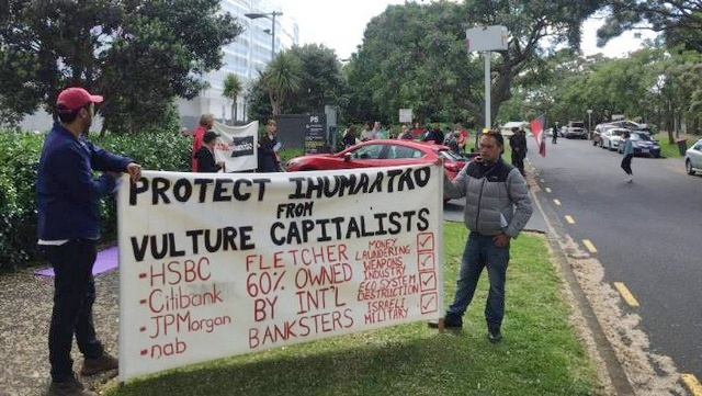 AGAINST THE CURRENT: IHUMATAO : A CLASH WITH CAPITAL