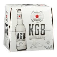 Big Barrel | Online Liquor Store NZ. KGB Lemon Ice 5% Vodka Premix 12pk  Bottles 275ml