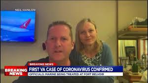 Marine tests positive for coronavirus at Virginia army base