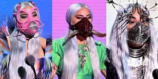 "Wear a mask, it's a sign of respect"" - Lady Gaga accepting the Tricon award  at"