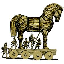 Trojan Horse Illustration Icons PNG - Free PNG and Icons Downloads